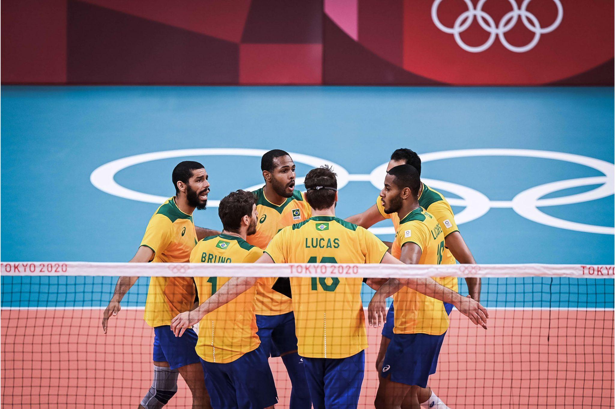 Brasil vôlei masculino Tóquio 2020